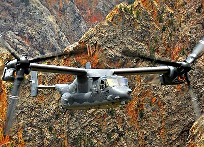 aircraft, military, vehicles, V-22 Osprey - desktop wallpaper