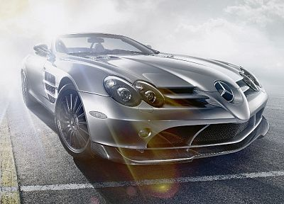 cars, Mercedes-Benz, Mercedes-Benz SLR McLaren 722 Edition - random desktop wallpaper