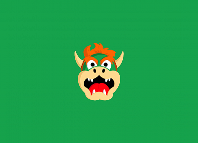minimalistic, Bowser - random desktop wallpaper
