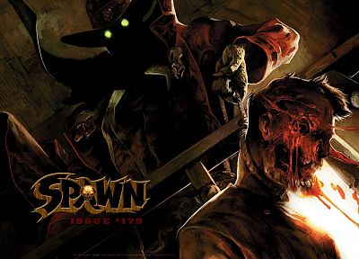 Spawn, comics, Todd McFarlane - random desktop wallpaper