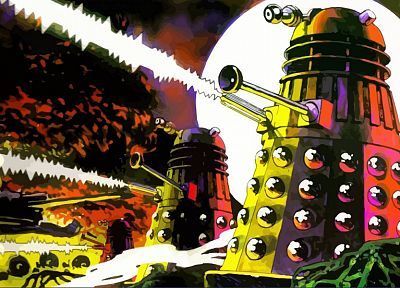 Dalek, exterminate, Doctor Who - desktop wallpaper