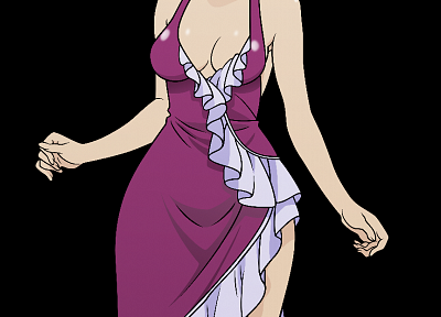 dress, vectors, transparent, anime girls, anime vectors - desktop wallpaper