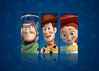 Toy Story, Buzz Lightyear, Woody - desktop wallpaper