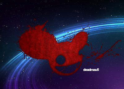 Deadmau5, house music - random desktop wallpaper