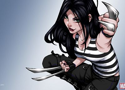 Marvel Comics, X-23 - desktop wallpaper