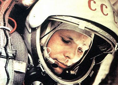outer space, Yuri Gagarin, cosmonaut - random desktop wallpaper