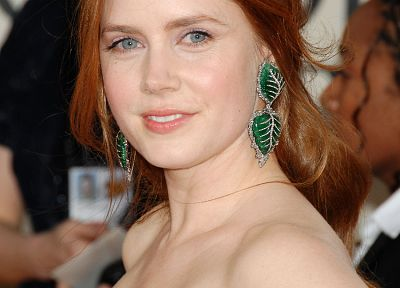 actress, Amy Adams, earrings - desktop wallpaper