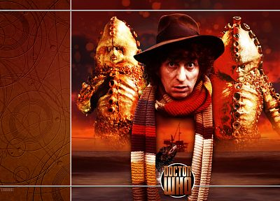 Fourth Doctor, Tom Baker, Doctor Who - desktop wallpaper