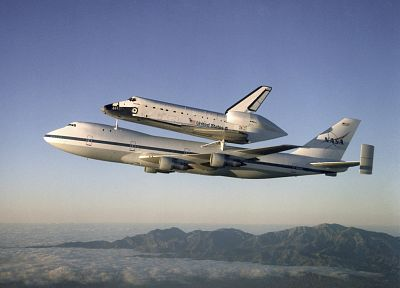 aircraft, Space Shuttle, NASA, planes - related desktop wallpaper