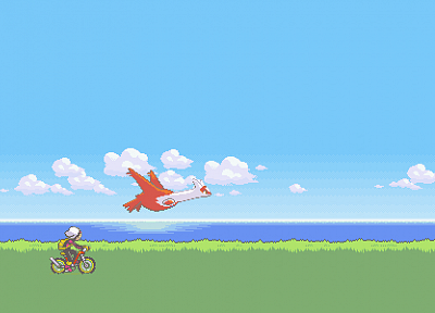 Pokemon, Latias - random desktop wallpaper
