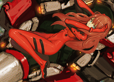 Neon Genesis Evangelion, Asuka Langley Soryu - related desktop wallpaper
