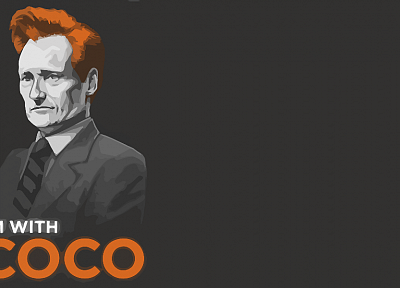 minimalistic, Conan OBrien - related desktop wallpaper