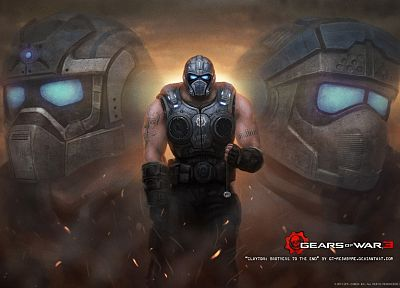 Gears of War, games - random desktop wallpaper