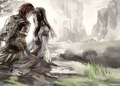 couple, Shadow of the Colossus, Wander (Character) - random desktop wallpaper