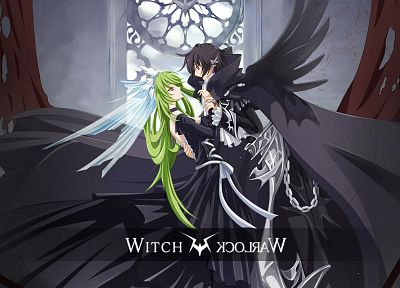 Code Geass, Lamperouge Lelouch, C.C. - related desktop wallpaper
