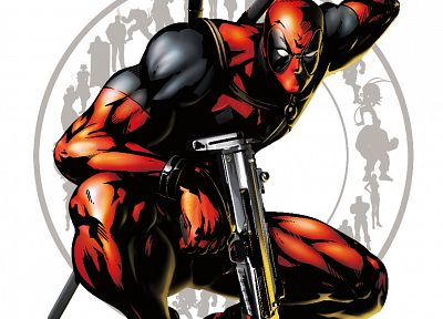 comics, Deadpool Wade Wilson, Marvel vs Capcom, Marvel Comics - random desktop wallpaper