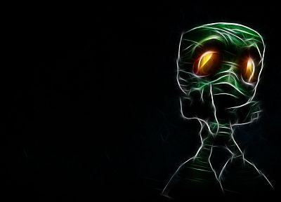 video games, Fractalius, League of Legends, Amumu - desktop wallpaper
