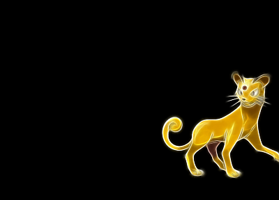 Pokemon, Persian, black background - random desktop wallpaper