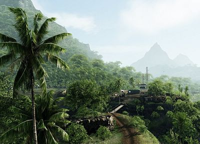 video games, Crysis - related desktop wallpaper