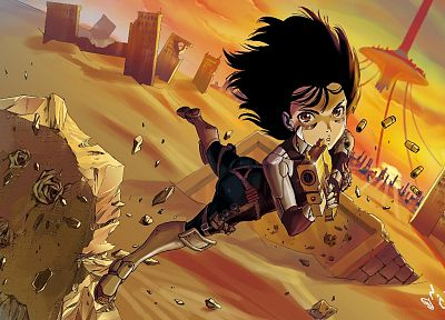guns, Gally, Gunnm, cyborgs, Battle Angel Alita - random desktop wallpaper