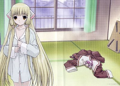 Chobits - random desktop wallpaper