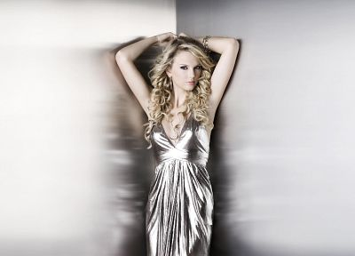 blondes, women, dress, Taylor Swift, celebrity, singers - desktop wallpaper
