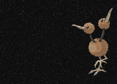 Pokemon, mosaic, Doduo - related desktop wallpaper