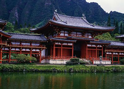 architecture, buildings, Asian architecture, multiscreen, widescreen - random desktop wallpaper
