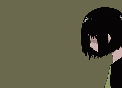 Welcome to the N.H.K., sorrow, sadness, simple background, Nakahara Misaki - random desktop wallpaper