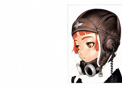 Range Murata, Last Exile, Lavie Head, Form Code, soft shading, simple background - related desktop wallpaper