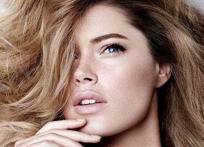 women, Doutzen Kroes - random desktop wallpaper