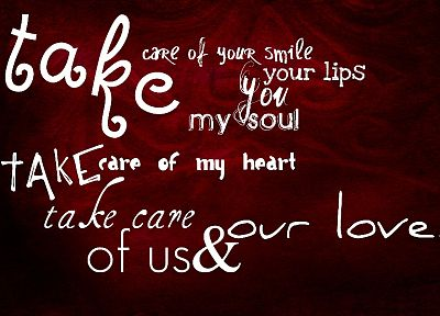 love, red, typography, letters, hearts - related desktop wallpaper