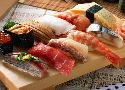 food, sushi, nigiri - related desktop wallpaper