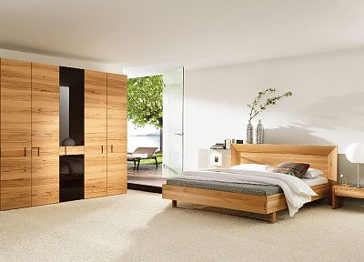 architecture, room, beds, interior, bedroom - related desktop wallpaper