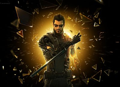 Deus Ex, Deus Ex: Human Revolution, Adam Jensen - related desktop wallpaper