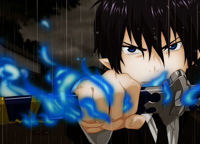 anime, Rin okumura - random desktop wallpaper