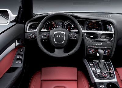 cars, Audi, car interiors, white cars - random desktop wallpaper