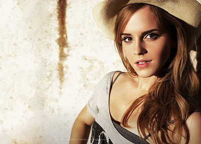 brunettes, women, Emma Watson, actress - desktop wallpaper