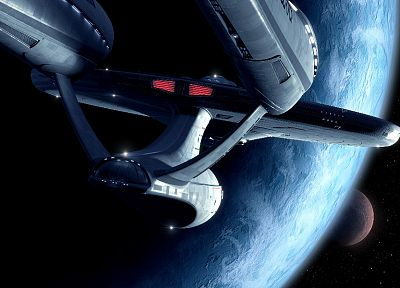 USS Enterprise - random desktop wallpaper