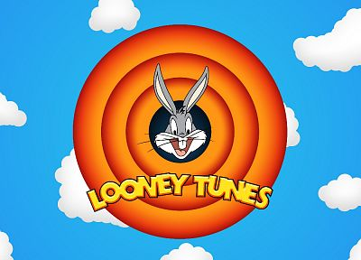 clouds, comics, Looney Tunes, Warner Bros. - desktop wallpaper