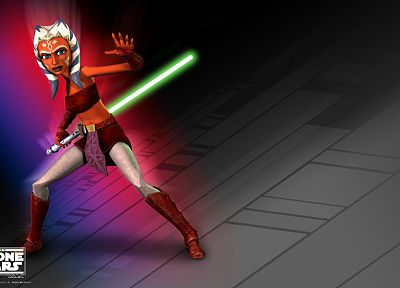 Star Wars, Clone Wars, Ahsoka Tano - related desktop wallpaper