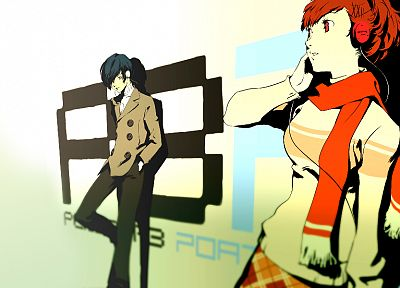 Persona series, Persona 3, Arisato Minato, Female Protagonist (Persona 3) - related desktop wallpaper