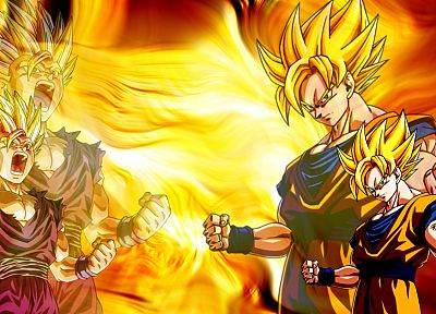 Son Goku, Son Gohan, Dragon Ball Z - random desktop wallpaper