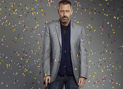 TV, Hugh Laurie, Gregory House, House M.D. - related desktop wallpaper