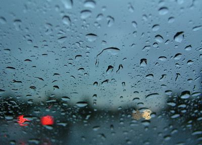 water drops, window panes - desktop wallpaper