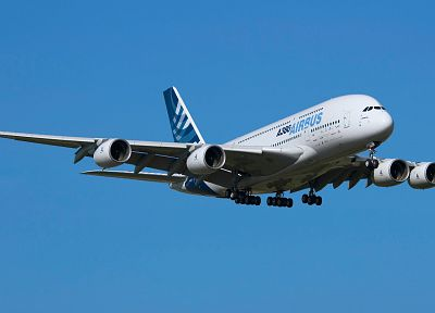 aircraft, Airbus A380-800 - related desktop wallpaper