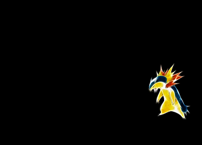 Pokemon, simple background, Typhlosion - related desktop wallpaper