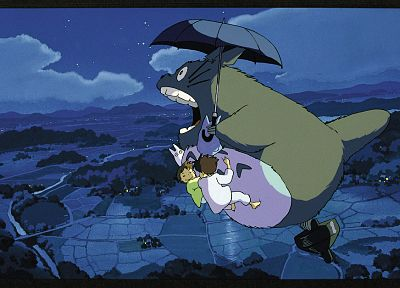 movies, Totoro, My Neighbour Totoro, anime - desktop wallpaper