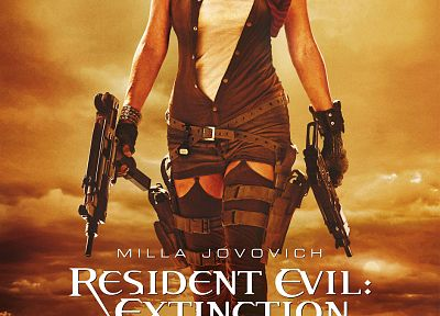 Resident Evil, Milla Jovovich, Resident Evil: Extinction - related desktop wallpaper