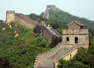 architecture, Great Wall of China - random desktop wallpaper